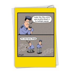 Noble Works Card- Hopscotch