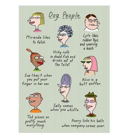 Clayboys Card Clayboys Dog People