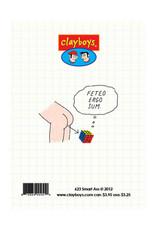 Clayboys Card-Clayboy Happy Birthday Smart Ass
