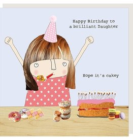 Rosie Made a Thing Card-Brilliant Daughter Birthday