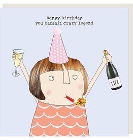 Rosie Made a Thing Card-Birthday-Crazy Legend