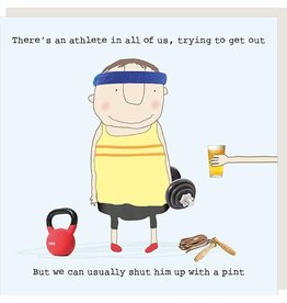 Rosie Made a Thing Card- Athlete Pint