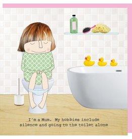 Rosie Made a Thing Card-Mum Hobbies