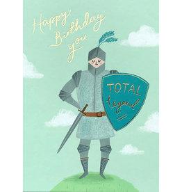Stormy Knight Card-Birthday Total Legend