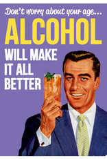 Dean Morris Cards Card-Alcohol Will Make it Better