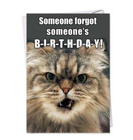 Noble Works Card Forgot Someone's Birthday
