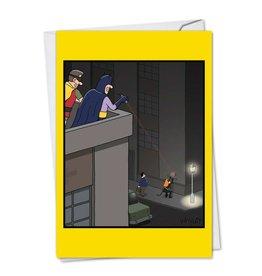 Noble Works CARD-GO BAT SHIT-BDAY