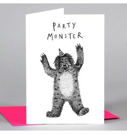 Cath Tate Cards Card-Party Monster