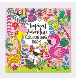 Rachel Ellen Designs Colouring Book-Tropical Adventure