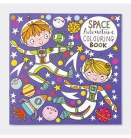 Rachel Ellen Designs Colouring Book-Space Kids