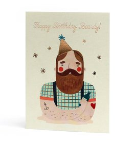 Stormy Knight Card-Happy Birthday Beardy