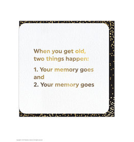 Brain Box Candy Card-Get Old,Two Things