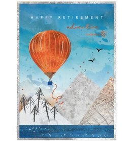 Cinnamon Aitch Card-Retirement Adventure Awaits