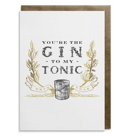 Divine Savages Card-Gin to my Tonic