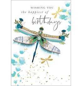 Abacus Card Ltd. Card-Birthday Dragonfly