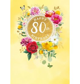 Abacus Card Ltd. Card-Happy 80th Birthday