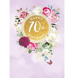Abacus Card Ltd. Card-Happy 70th Birthday