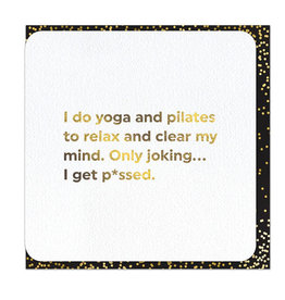 Brain Box Candy Card-Blank-Yoga and Pilates