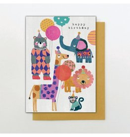 Stop The Clock Design Happy Birthday Little Bears Card