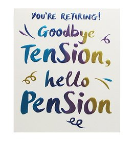 Paperlink Card-Retire Hello Pension