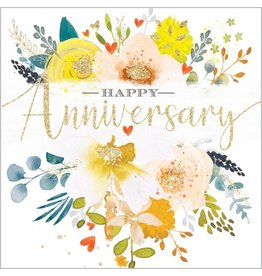 Abacus Card Ltd. Happy Anniversary Blank Card