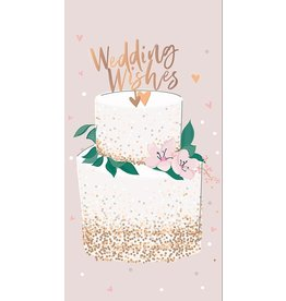 Belly Button Designs Card-Wedding Wishes