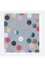 Caroline Gardner Card-Thank You Dots