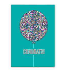 Glitter Balloon- Card
