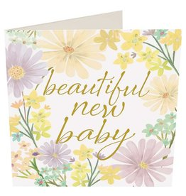 Caroline Gardner Card-Beautiful New Baby