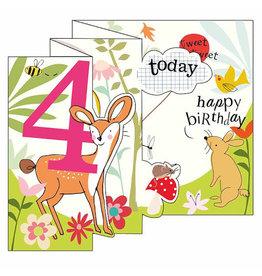 Caroline Gardner Card- 4 Today Happy Birthday (Dear and Bunny)