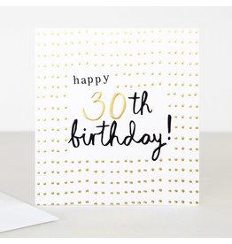 Caroline Gardner Card-Age, Happy Birthday 30
