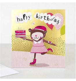 Caroline Gardner Card,Happy Birthday Monkey