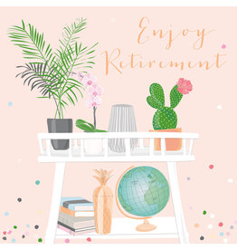 Belly Button Designs Card-Enjoy Retirement