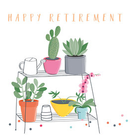 Belly Button Designs Card-Happy Retirement