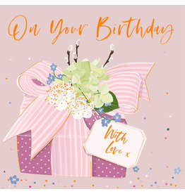 Belly Button Designs Card-On Your Birthday