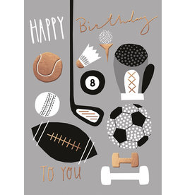 Caroline Gardner Card-Birthday Sports