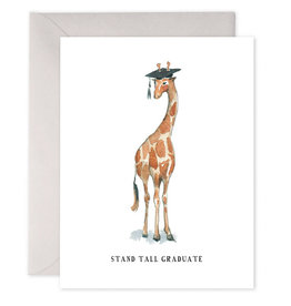 e. frances paper Stand Tall Graduate Card