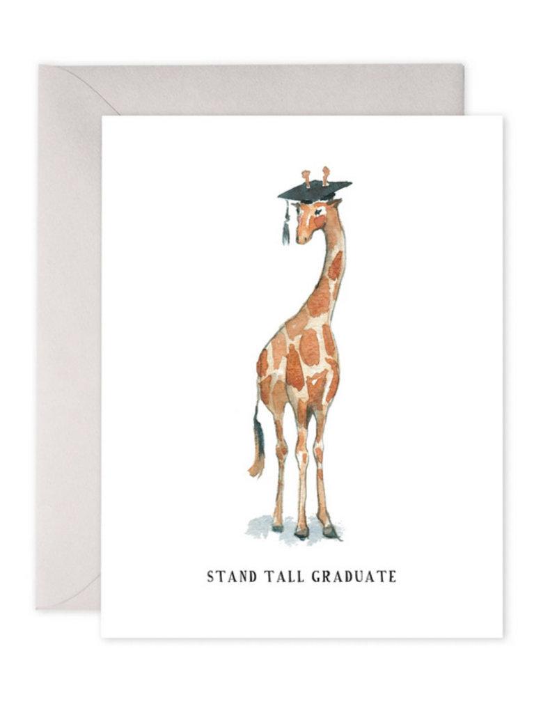 e. frances paper Stand Tall Graduate Card