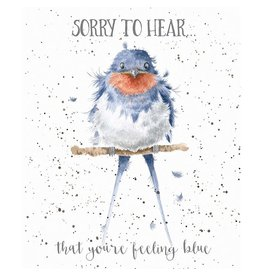 WRENDALE Feeling Blue, Thinking Of You Card