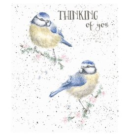 WRENDALE Card-Thinking of You Birds