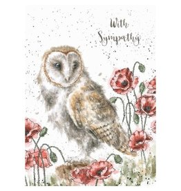 WRENDALE The Lookout Sympathy Card