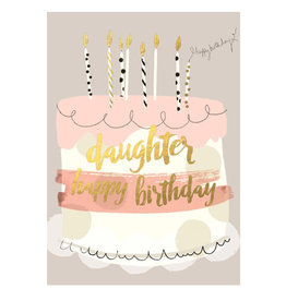 Hammond & Gower Happy Birthday Daughter Card