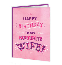 Brain Box Candy Card-Birthday Wife