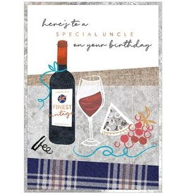 Cinnamon Aitch Card- Special Bday Uncle