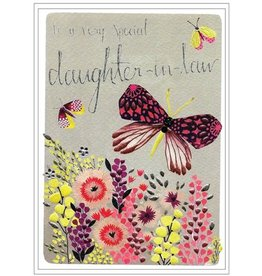 Cinnamon Aitch Card-Bday Daughter-in-law Btrfly