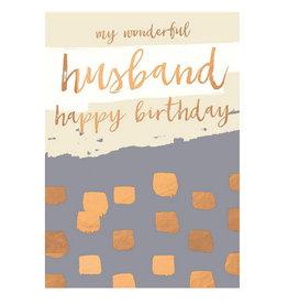 Hammond & Gower Card-Birthday Husband