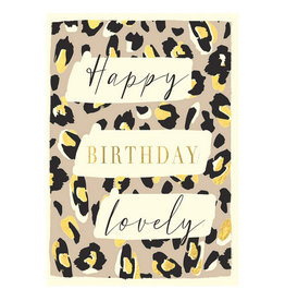 Hammond & Gower Card- Happy Birthday Lovely