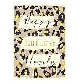 Hammond & Gower Card- Happy Birthday Lovely