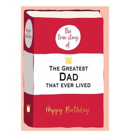 Hammond & Gower Dad Happy Birthday Card