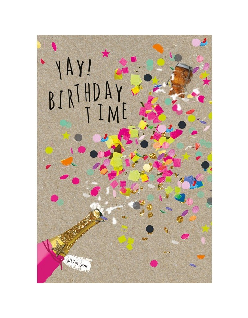 Super Card Yay Birthday Time Cameron Rose Funny Birthday Cards Online Fluifree Goldxyz